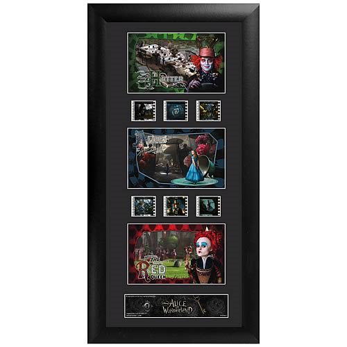 Alice in Wonderland Series 1 Upright Triple Film Cell