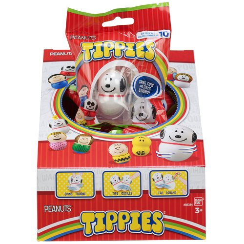 Peanuts Friends Tippies Mini-Figure Case