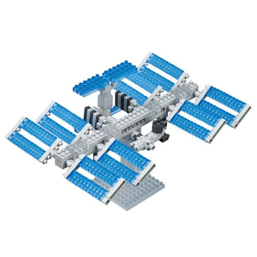 Space Station Nanoblock Constructible Figure
