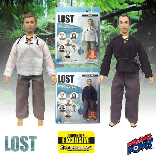 Lost Jacob and Man in Black 8-Inch Figures - SDCC Exclusive