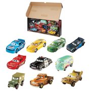 Cars Piston Cup Die-Cast Metal Vehicle Collection 10-Pack