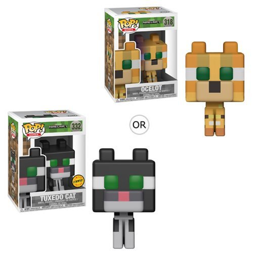 Minecraft Ocelot Pop! Vinyl Figure #318, Not Mint