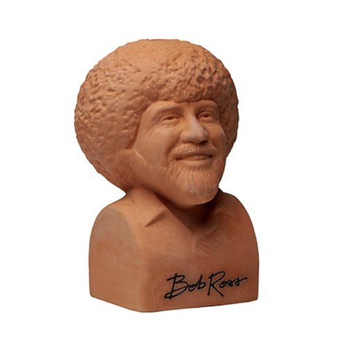Bob Ross Joy of Painting Chia Pet