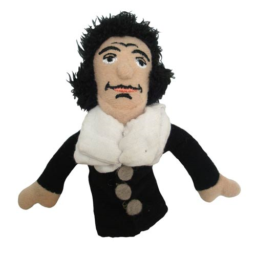 Baruch Spinoza Plush Finger Puppet Magnet