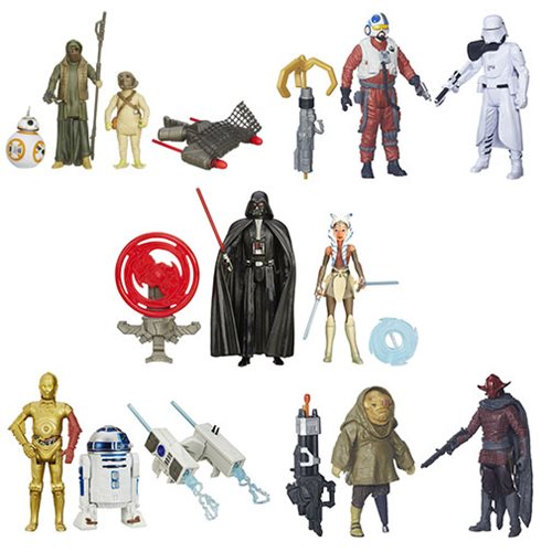 Star Wars: The Force Awakens Mission Series Action Figure 2-Packs Wave 3 Case