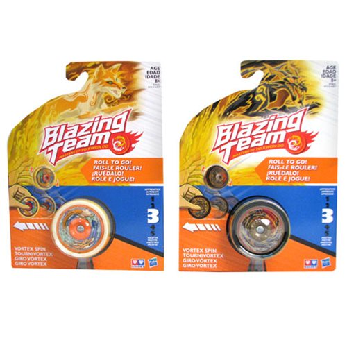 Blazing Team Vortex Spin Yo-Yo Wave 1 Case