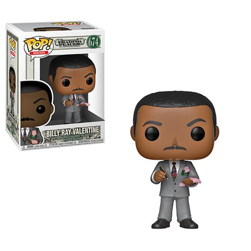 Trading Places Billy Ray Valentine Pop! Vinyl Figure #674, Not Mint