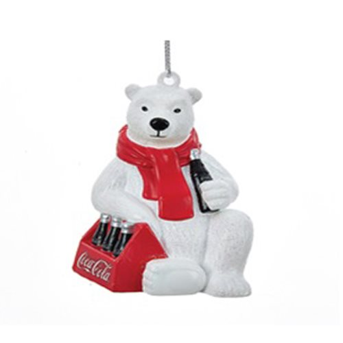 Coca-Cola Polar Bear 6-Pack 3 1/2-Inch Ornament