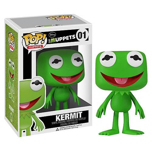 Muppets Kermit the Frog Pop! Vinyl Figure