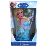 Disney Frozen Elsa Let it Go Glitter 16 oz. Pint Glass