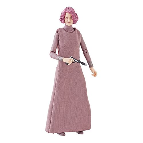 Star Wars The Black Series Vice Admiral Holdo 6-Inch Action Figure, Not Mint