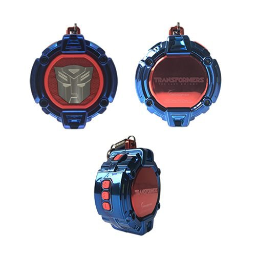Transformers The Last Knight Blue Autobot Portable Bluetooth Speaker