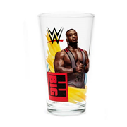 WWE Big E 16 oz. Pint Glass