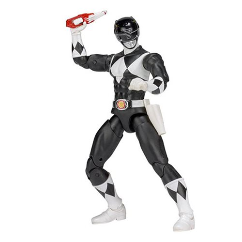 Mighty Morphin Power Rangers Legacy Black Ranger Action Figure