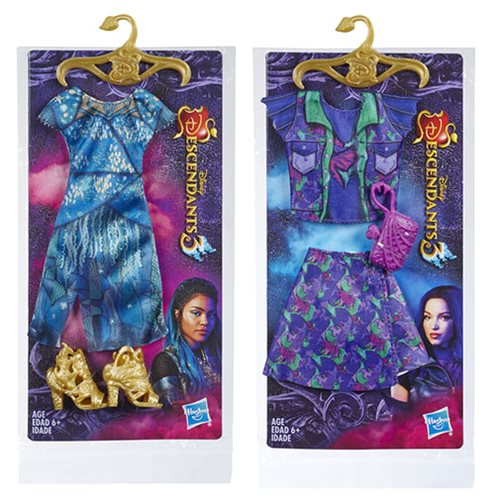 Disney Descendants D3 Movie Fashion Packs Wave 1 Case