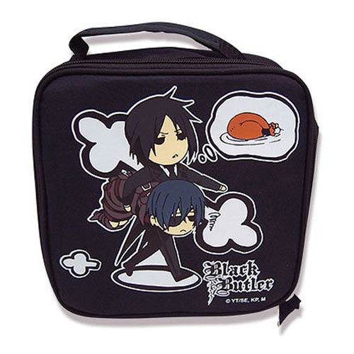 Black Butler Characters Soft Tote Lunch Box