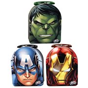 Marvel Avengers Arch Carry All Embossed Tin Lunch Box Set