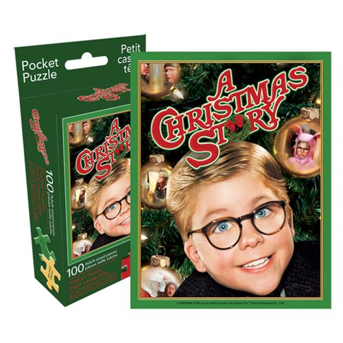 Christmas Story 100-Piece Pocket Puzzle