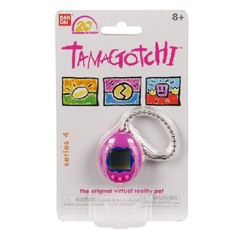 Tamagotchi Chibi Series 4 Purple Blue and Pink Digital Pet