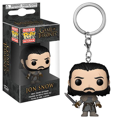 Game of Thrones Jon Snow Beyond the Wall Pocket Pop! Key Chain