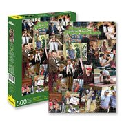 Parks and Recreation Collage 500-Piece Puzzle