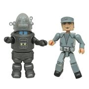Forbidden Planet Minimates Robby and Crewman 2-Pack Set