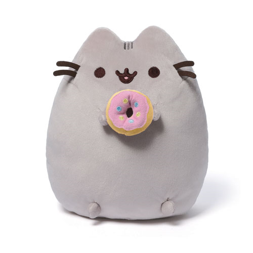 Pusheen the Cat with Donut Plush