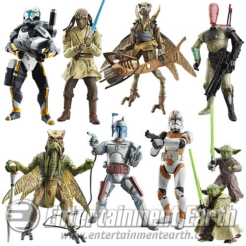 Star Wars Saga Figures Wave 3