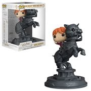 Harry Potter Ron Riding Chess Piece Pop! Vinyl Figure Movie Moments #82