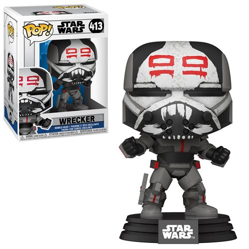 Star Wars: The Clone Wars Wrecker Pop! Vinyl Figure
