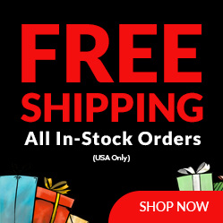 Free Shipping on In Stock Orders