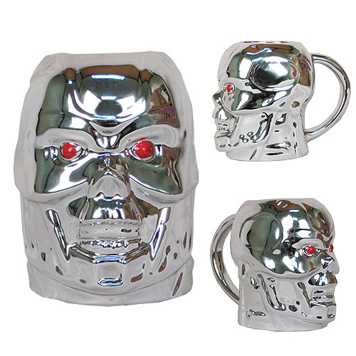 Terminator T-800 Head 20 oz. Molded Mug, Not Mint