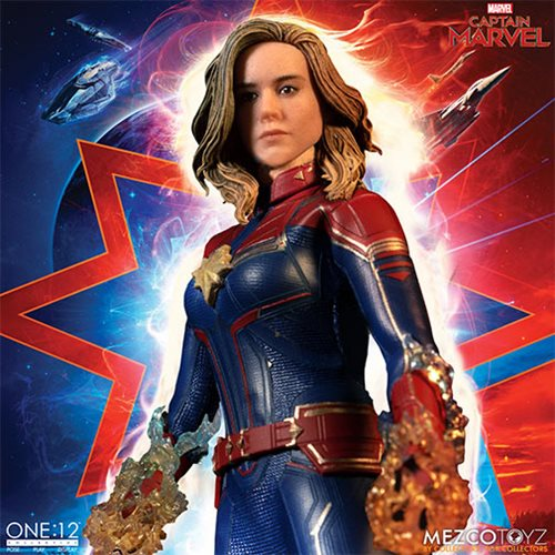 Captain Marvel Movie One:12 Collective Action Figure