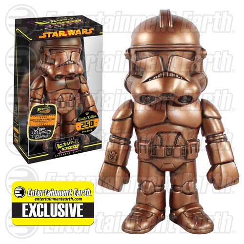 Star Wars Clone Trooper Dirty Penny Version Hikari Sofubi Vinyl Figure - Entertainment Earth Exclusive
