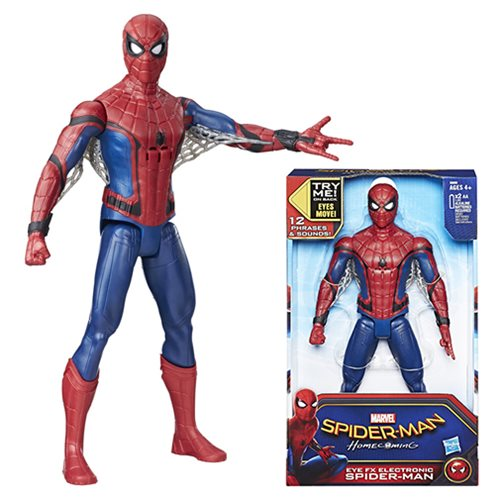 Spider-Man Homecoming Eye FX Electronic Action Figure