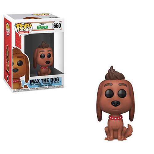 The Grinch Movie Max the Dog Pop! Vinyl Figure #660