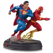 DC Gallery Superman vs. The Flash Racing Statue