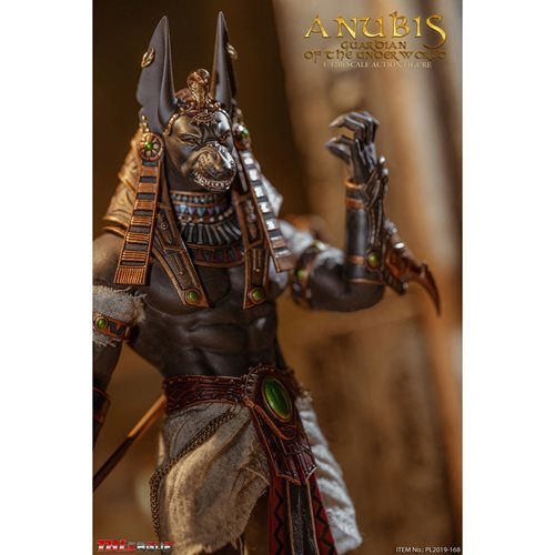 Anubis Guardian of The Underworld 1:12 Scale Action Figure