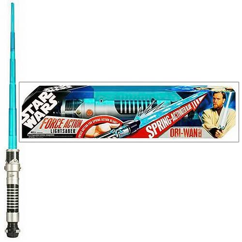 Star Wars Force Action Obi-Wan Kenobi Lightsaber