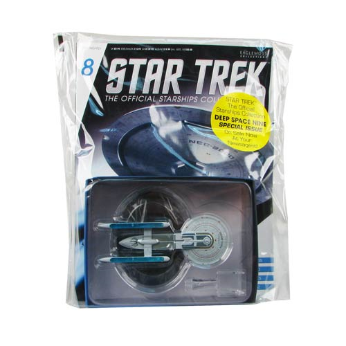 Star Trek Starships USS Excelsior NCC-2000 Vehicle with Collector Magazine
