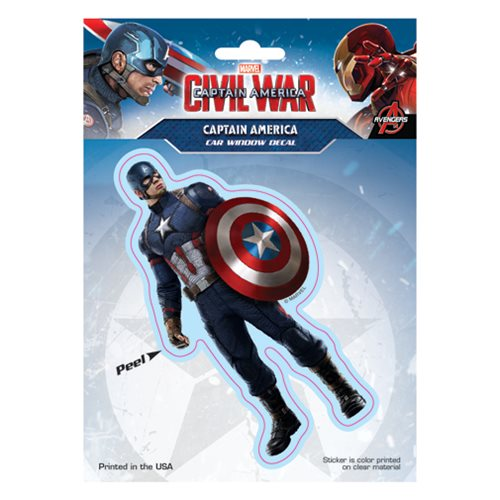 Captain America: Civil War Captain America Decal