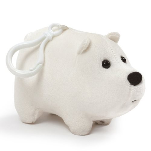 We Bare Bears Ice Bear Clip-On Backpack Plush