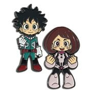 My Hero Academia Deku and Uravity Pins 2-Pack