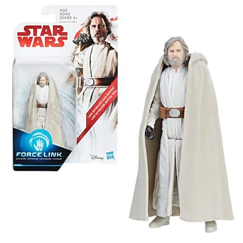 Star Wars: The Last Jedi Luke Skywalker Figure, Not Mint