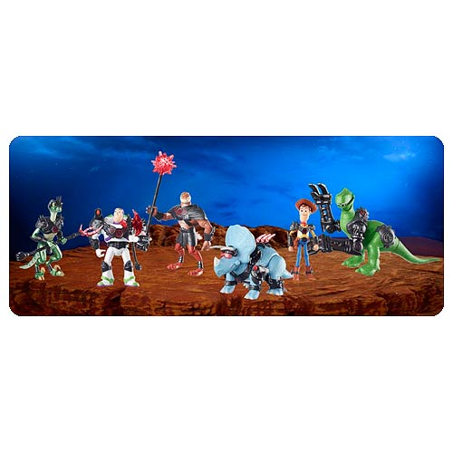 Toy Story That Time Forgot Battlesaurs Action Figure Case