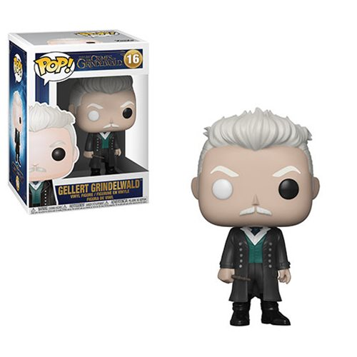 Fantastic Beasts: The Crimes of Grindelwald Gellert Grindelwald Pop! Vinyl Figure #16