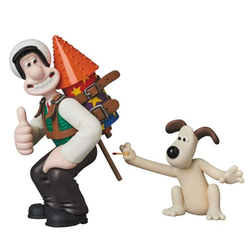Wallace and Gromit Rocket UDF Mini-Figures