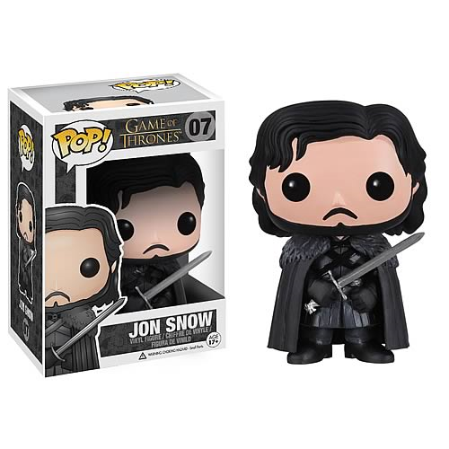 Game of Thrones Jon Snow Pop! Vinyl Figure #07