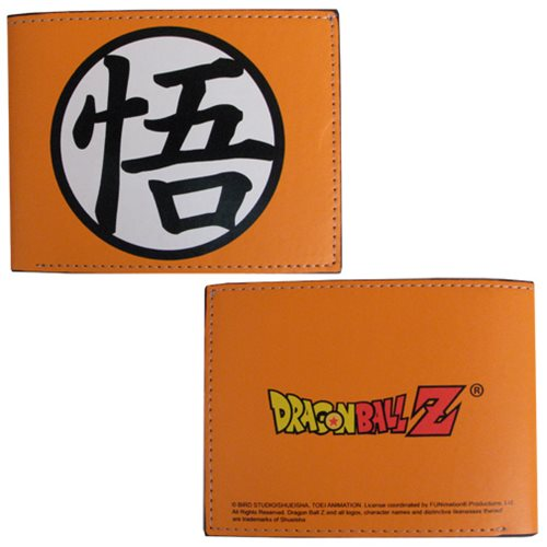 Dragon Ball Z Goku Symbol Orange Wallet