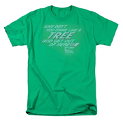 Back to the Future Make Like A Tree T-Shirt
